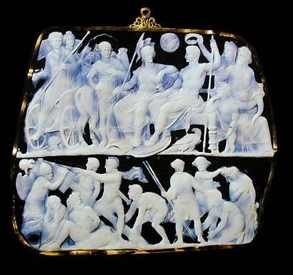 Резные камейные раковины. 16-20 век Неаполь, Помпеи