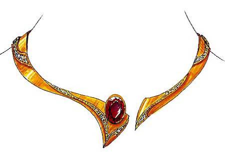 Bijoux Dessin jewelry design